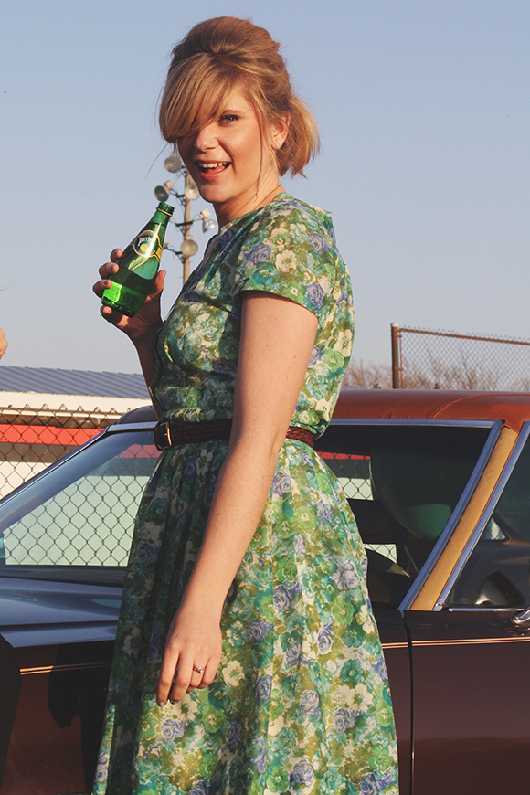 Floral vintage // We So Thrifty
